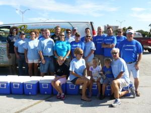 Boeing Volunteers deliver meals to homebound on July 13, 2013