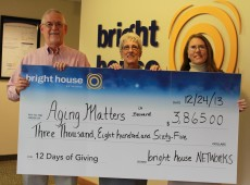 Bright House Check Presentation 12 Days of Christmas 2013